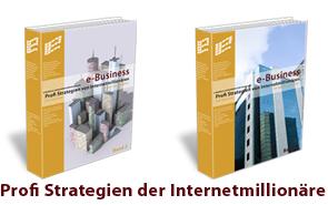 2 Bände Profi Strategien von Internetmillionären